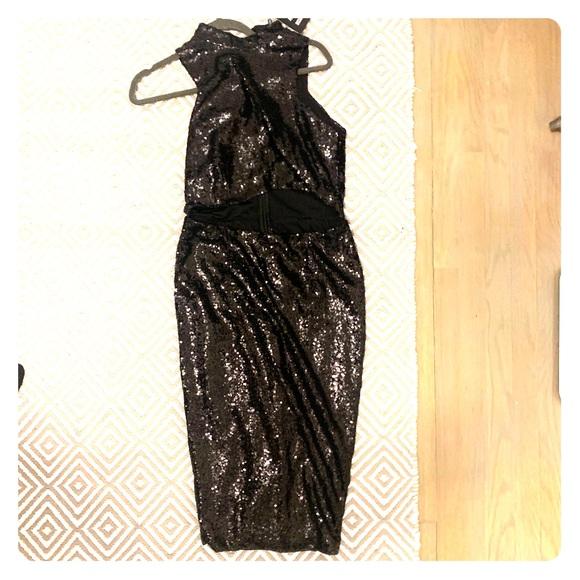 Nasty Gal Dresses & Skirts - Black sequins dress
